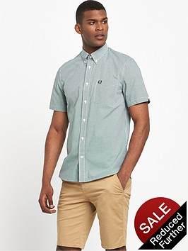 fred-perry-classic-gingham-short-sleeved-shirt