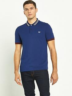 fred-perry-bomber-stripe-collar-pique-polo-shirt
