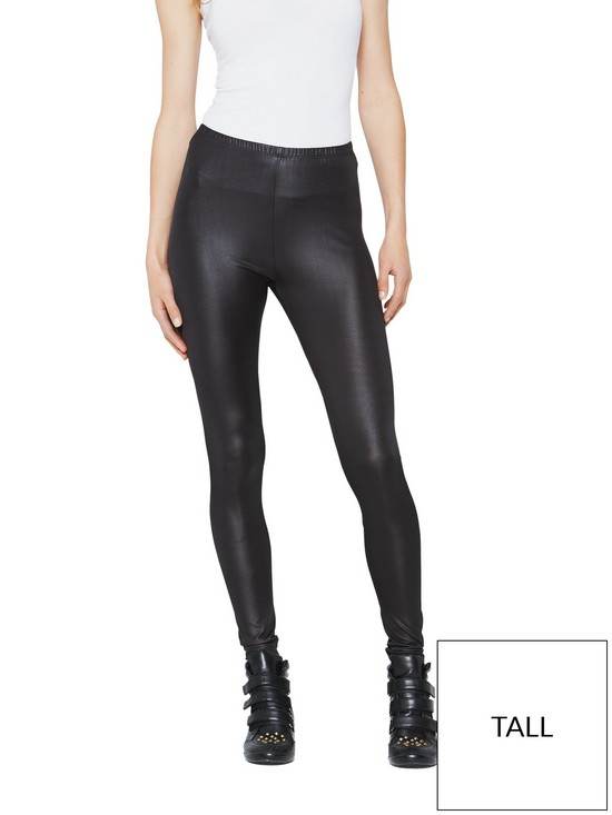 d9a0f17a21b47 V by Very Tall Wet Look Leggings | very.co.uk