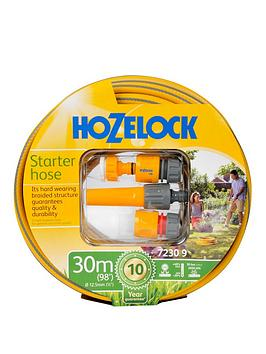 hozelock-30m-maxi-plus-hose-starter-set