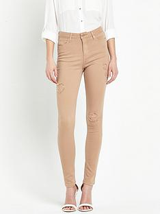 miss-selfridge-lizzie-distressed-ripped-blush-jean
