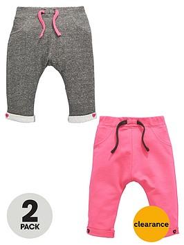 ladybird-baby-girls-loopbacknbspsweat-joggers-2-pack