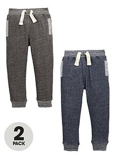 mini-v-by-very-boys-twist-marl-fashion-joggers-2-pack