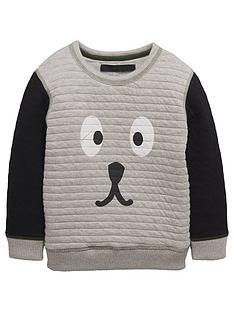 mini-v-by-very-boys-quilted-dog-sweat-top