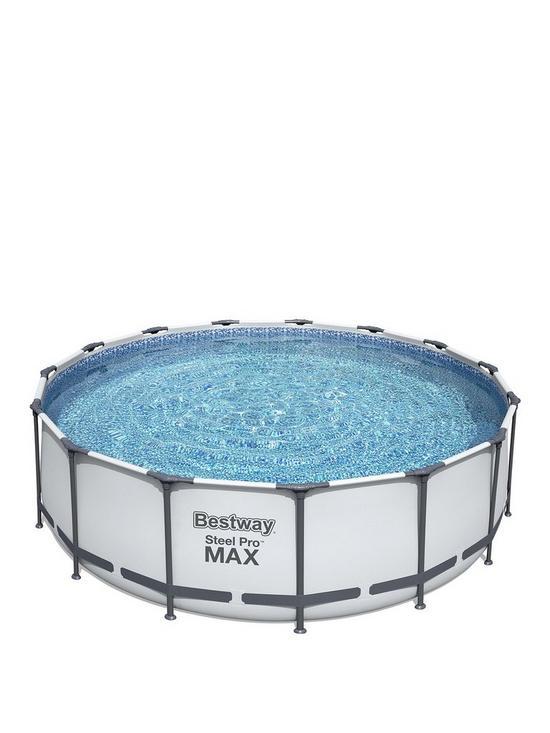 Bestway 15X48 Steel Pro Frame Pool Set   very.co.uk