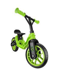 xootz-xootz-folding-balance-bike-green