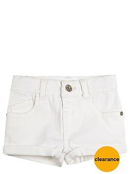 river-island-mini-mini-girls-white-denim-shorts