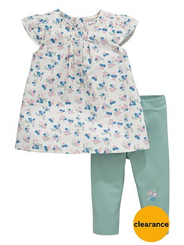 ladybird-baby-girls-floral-woven-top-and-leggings-set