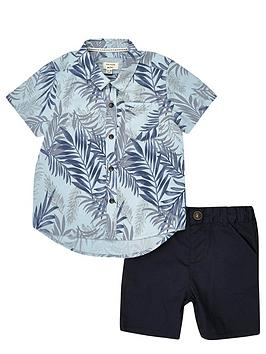 river-island-mini-boys-tropical-shirt-and-shorts-set