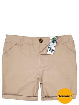 river-island-mini-boys-stone-linen-blend-shorts