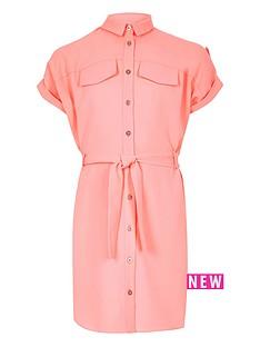 river-island-girls-belted-shirt-dress