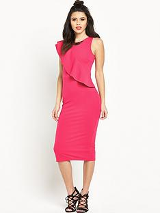 river-island-ruffle-bodycon-dress