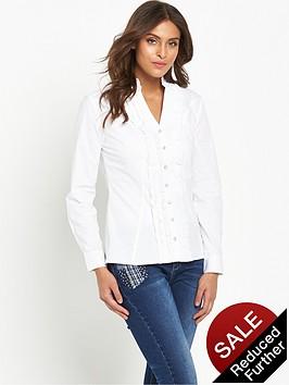 joe-browns-ruffle-blouse-white