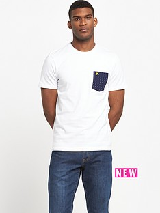 lyle-scott-square-dot-pocket-t-shirt