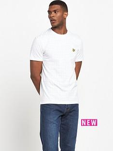 lyle-scott-lyle-amp-scott-square-dot-t-shirt