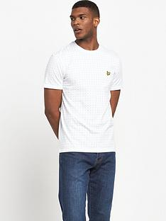 lyle-scott-square-dot-t-shirt