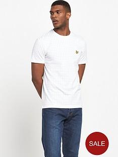 lyle-scott-square-dot-t-shirt