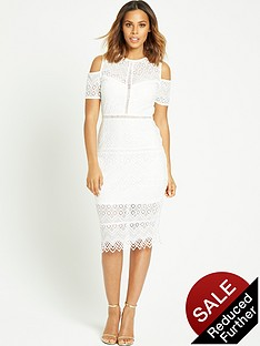rochelle-humes-cut-out-shoulder-pencil-dressnbsp