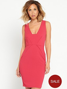 myleene-klass-deep-v-front-pencil-dressnbsp