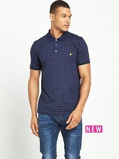 lyle-scott-lyle-amp-scott-square-dot-polo-shirt