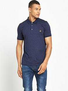 lyle-scott-square-dot-polo-shirt