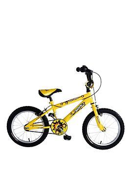 Sonic Nitro Junior Boys BMX Bike - Bright Yellow, 16 Inch Best Price and Cheapest