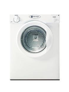 white-knight-c38aw-3kg-load-compact-vented-dryer-with-reverse-tumble-white