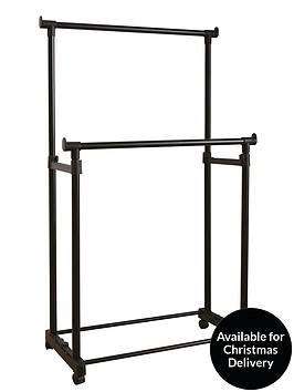 ideal-garment-rack-with-2-rails