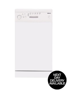 beko-de2542fw-10-place-slimline-dishwasher-white-next-day-delivery