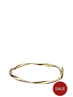 love-gold-9-carat-yellow-gold-wave-twist-bangle