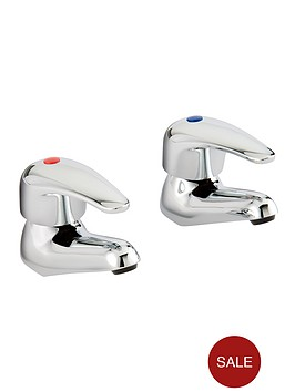 bristan-contemporary-lever-basin-taps-chrome
