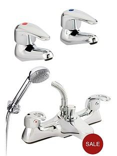 bristan-pack-containing-single-lever-basin-taps-and-bath-shower-mixer-tap