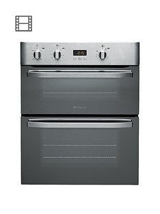 hotpoint-uhs53xs-60cm-built-under-double-oven-stainless-steel