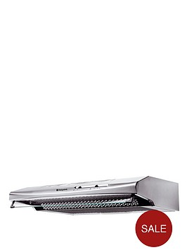 hotpoint-first-edition-htv10s-60cm-visor-cooker-hood-stainless-steel