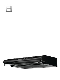 hotpoint-first-edition-htv10k-60cm-visor-cooker-hood-black