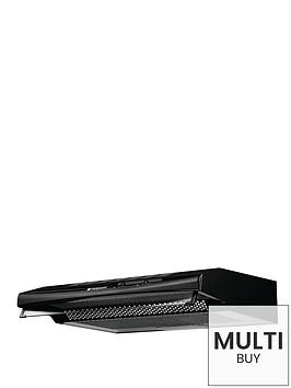 hotpoint-first-edition-htv10k-60cm-visor-cooker-hood-black