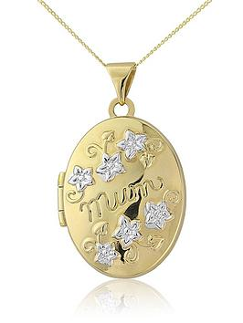 keepsafe-9-carat-yellow-gold-mum-locket