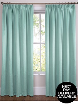 plain-dye-satin-pencil-pleat-curtains-extra-long-drop-available