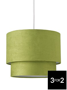 ingrid-faux-suede-light-shade-pendant