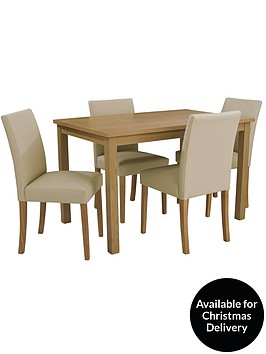 Primo 120 cm dining table 4 lucca chairs buy and save for 120 dining table sets