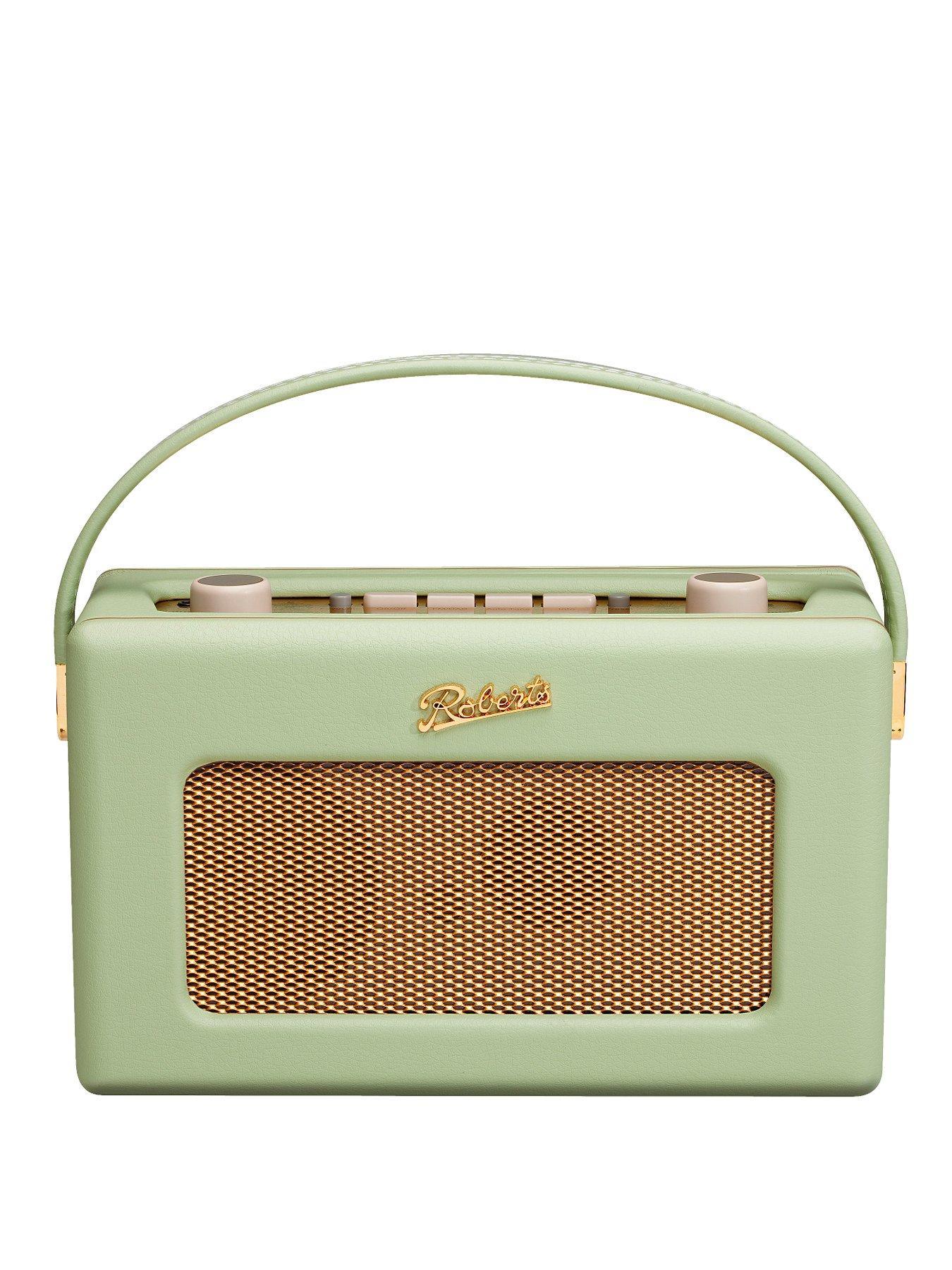 Roberts Revival DAB/FM RDS Digital Radio - Leaf Green