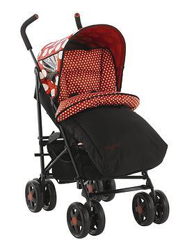 ladybird-spotty-stroller-red
