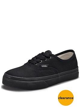 vans-authentic-junior-plimsolls-black