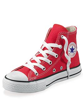 converse-all-star-hi-junior-kids-plimsolls-red