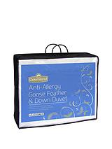 10.5 Anti-Allergy Goose Feather and Down Duvet - Super King