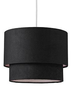 ingrid-faux-suede-light-shade-pendant