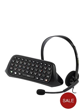 xbox-360-chat-pad-and-headset-black