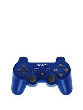 playstation-3-blue-dualshock-3-rumble-pad-controller