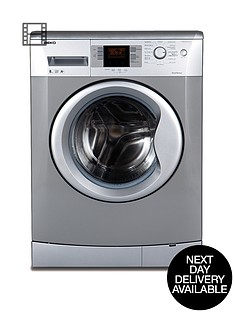 beko-wmb81241ls-1200-spin-8kg-load-washing-machine-silver-next-day-delivery