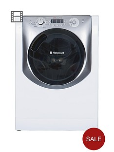 hotpoint-aq113l297e-1200-spin-11kg-load-washing-machine-white-with-titanium-trim